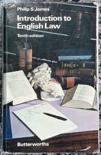Introduction to English Law - Tenth edition